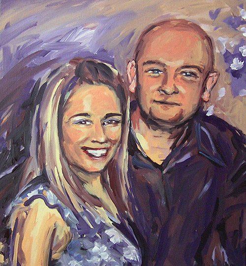 portrét manželů