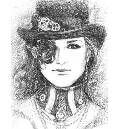 kreslený portrét na zakázku